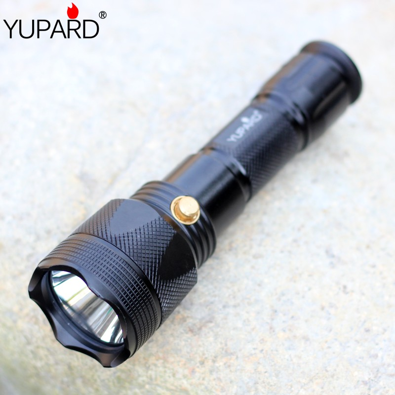 yupard XM-L2 LED T6 Q5 LED waterproof underwater Diving diver yellow light Flashlight Torch Lamp AAA 18650 battery yupard diving diver 50m waterproof underwater flashlight xm l2 t6 led torch white yellow light lamp torch 18650 battery charger
