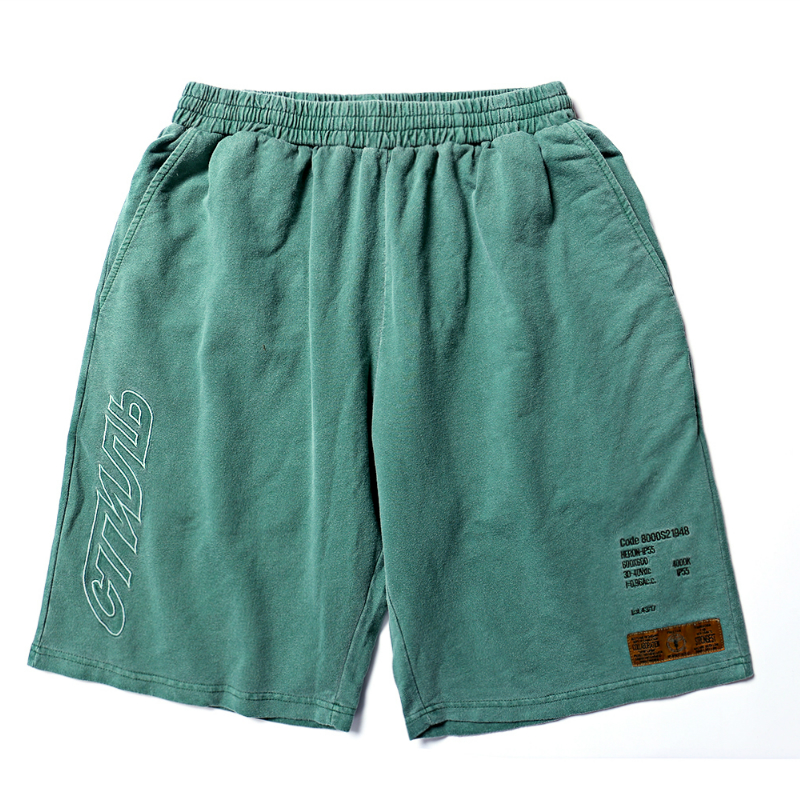 Heron Preston Shorts 1:1 High Quality Fog Shorts Camouflage Shorts Men Drawstring Camo Masculino Streetwear Heron Preston Short