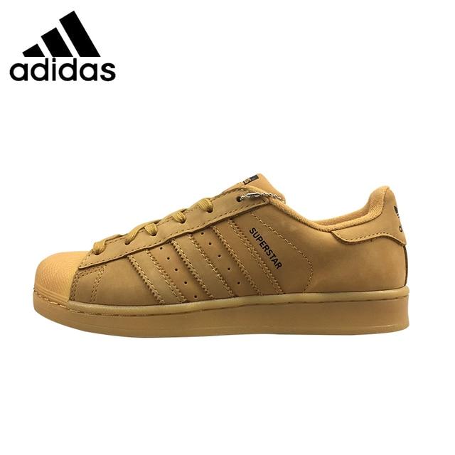 435ea5412 ADIDAS Superstar ORIGINAL Мужские и женские Скейтбординг обувь унисекс  дышащая обувь для отдыха суперлегкие кроссовки