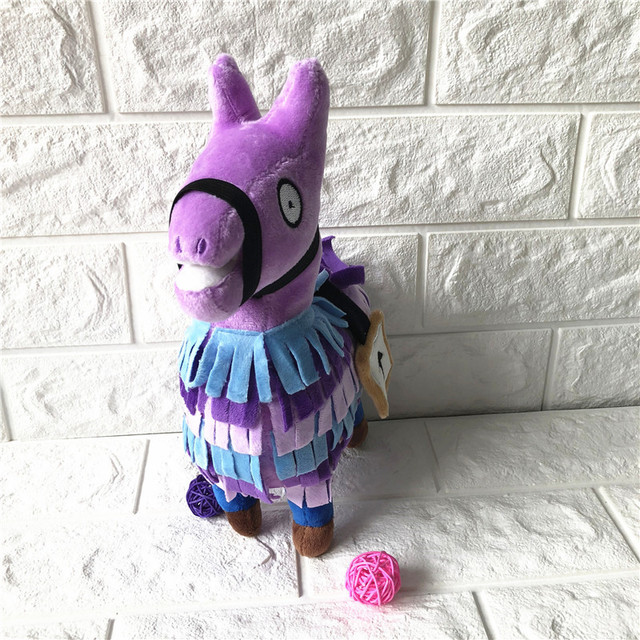 20-35cm Fortress Night Hot Game Plush Toy Troll Stash Llama Soft Alpaca Rainbow Horse Stash Stuffed Toys Kids Birthday Gift 4