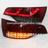 For Audi Q7 LED Tail Light Rear lamp 2006 2010 year Red Black