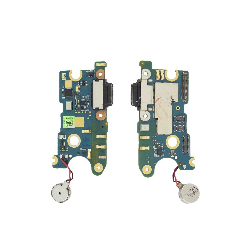 USB Charging Port Dock Connector Mic Vibrator Flex Cable for HTC U11 Phone Micro USB Dock Connector Charging Port Replacement