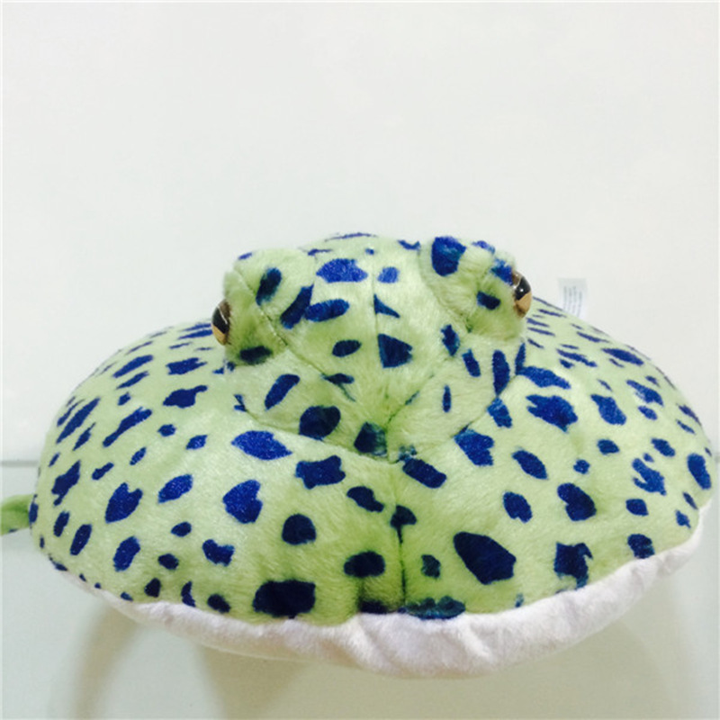 Free shipping 1pcs ocean creature blue spot ray fish plush doll free shipping 1pcs ocean creature blue spot ray fish plush doll toy easter gifts birthday gifts in movies tv from toys hobbies on aliexpress negle Choice Image