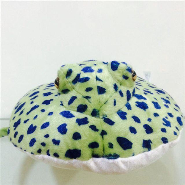 Free shipping 1pcs ocean creature blue spot ray fish plush doll free shipping 1pcs ocean creature blue spot ray fish plush doll toy easter gifts birthday gifts negle Gallery