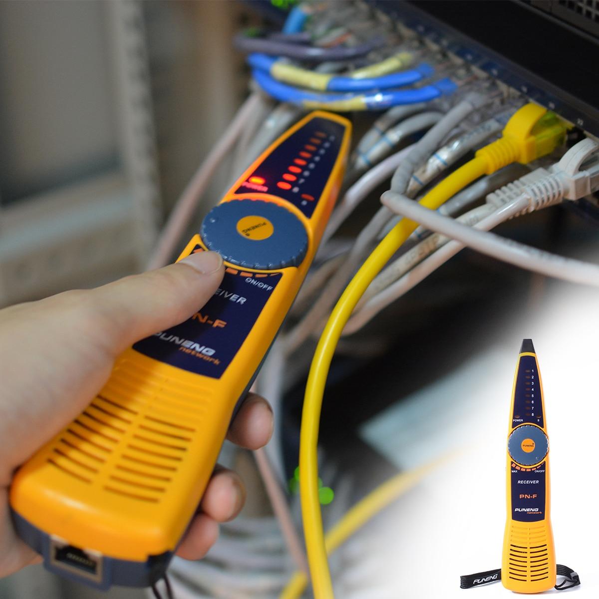 RJ11 RJ45 Cat5 Cat6 Telephone Wire Tracker Tracer Toner Ethernet LAN Network Cable Tester Detector Line Finder BI011  цены