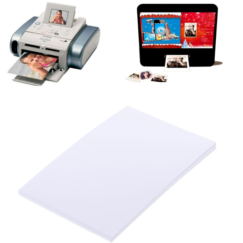 "20 Sheets 4""x6"" High Quality Glossy 4R Photo Paper 200gsm For Inkjet Printers"