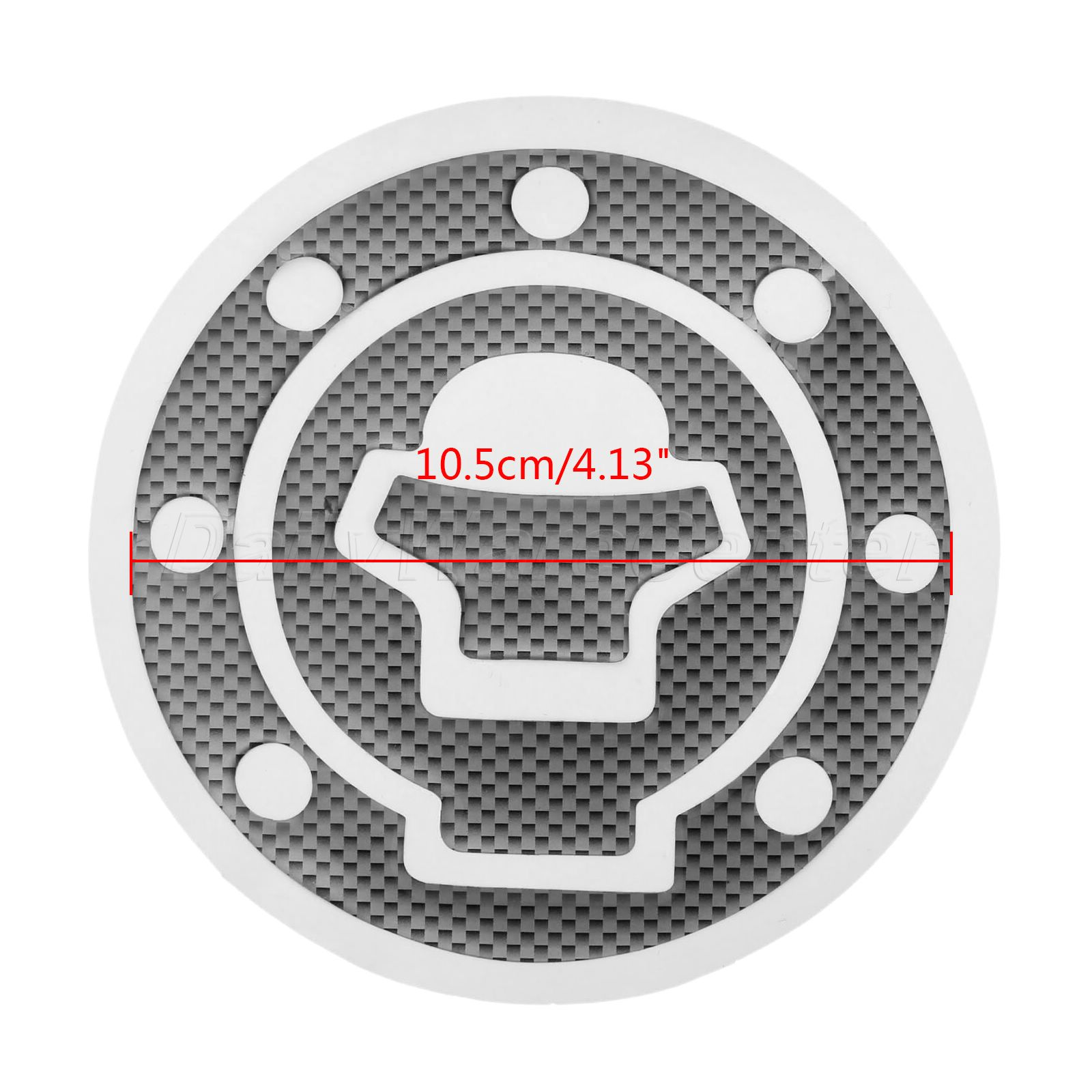 New 1X Motorcycel Decorate <font><b>Decal</b></font> Fuel Gas Cap Cover Pad <font><b>Sticker</b></font> for <font><b>Suzuki</b></font> GSXR600 <font><b>750</b></font> GSX-R 1000 GSX1400 TL1000R TL1000S KATANA image