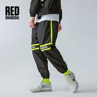 Красный Уголь 90 S Форма пожарного трека брюки винтажные джоггеры