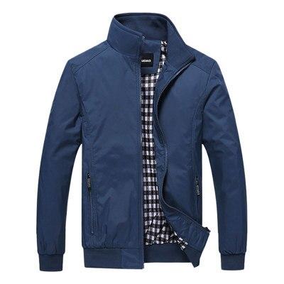 Novos Homens Jaqueta Moda Casual Solta Homens Bombardeiro Jaqueta Sportswear ao ar livre top coat Mens jaquetas e Casacos Plus Size M -5XL
