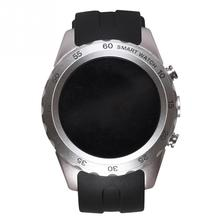 Bluetooth KW08 Smart Watch Waterproof Phone Mate Round Design Breathable Rugged