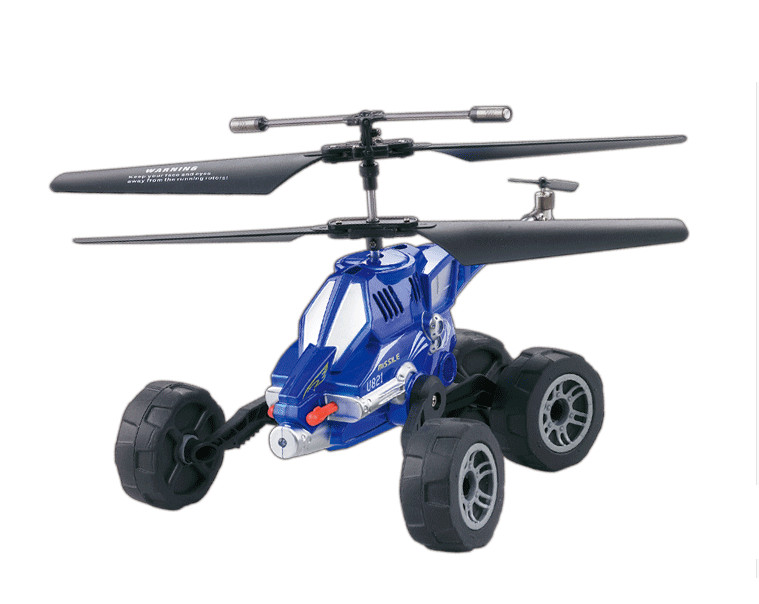 UDI U821 Air Ground RC Drone Helicopter Quadcopter Vehicles Flying Fired Missiles Electric radio Control Driving