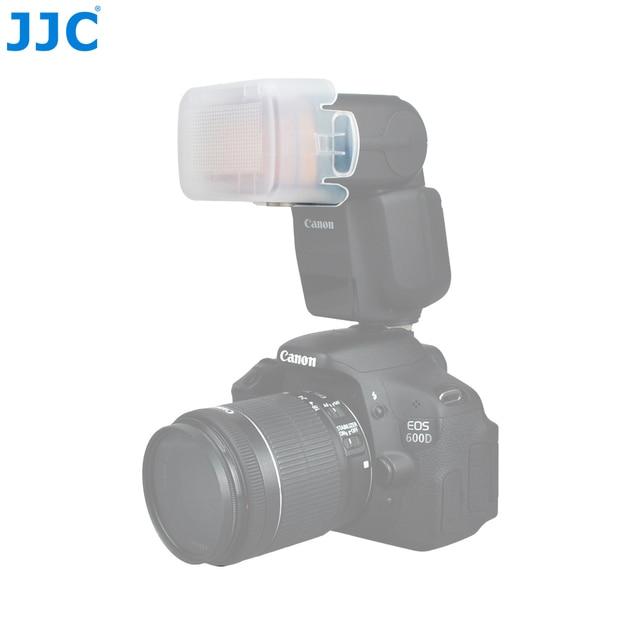 JJC Blitzgerät Softbox Blitz diffusor für Canon 600EX II RT/430EX III RT/580EX/580EX II/320EX/ 600EX RT/220EX/MT 24EX/270 EXII
