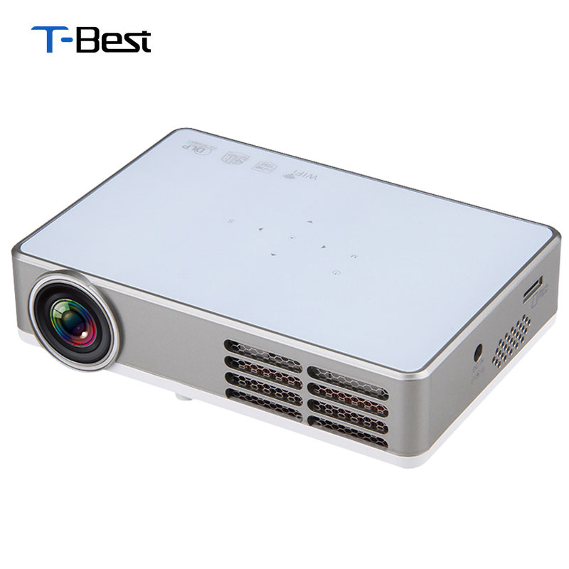 Buy excelvan led9 android 4 4 dlp for Wireless mini projector