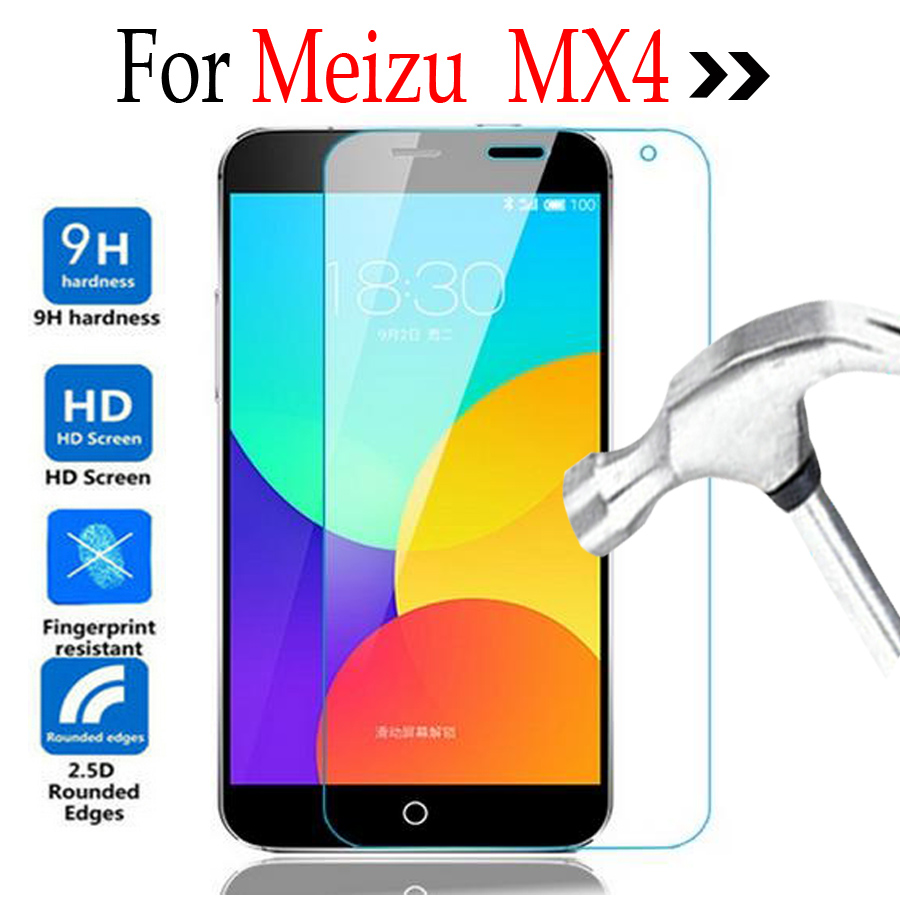 GzPuluz Glass Protector Film 100 PCS 0.26mm 9H 2.5D Tempered Glass Film for Meizu 16