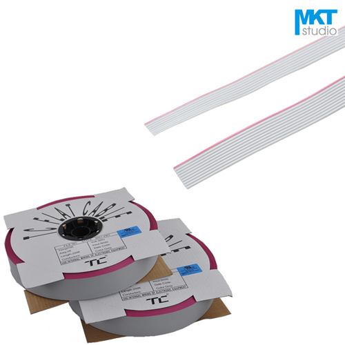 1Pcs 1Meter 1.27mm Pitch Flat Ribbon Cable For 2.54mm FC IDC Shrouded Box Header Sample 6P 8P 10P 12P 14P 16P 18P 20P цены