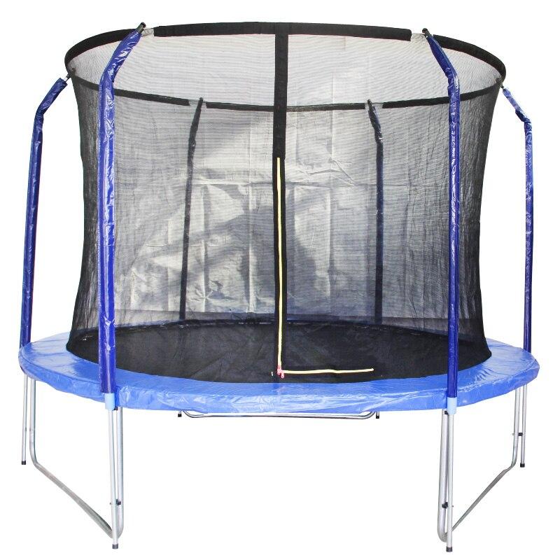 Trampoline extérieur d'équipement Commercial de forme physique de ménage d'anneau élastique de 10 InchTrampolines pour des enfants avec le filet sûr