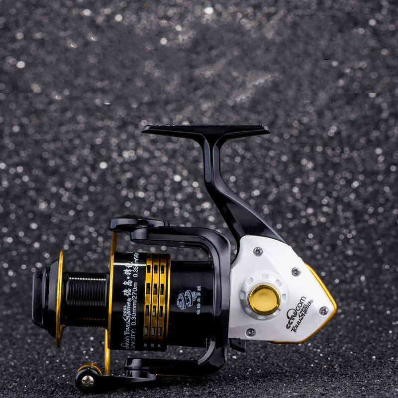 Tokushima FK 1000-7000 series Spinning Fishing Reel Gear ratio 5.1:1/ 4.9:1/ 5.5:1 Ball bearings 7+1 Full Metal Fishing Tackle стоимость