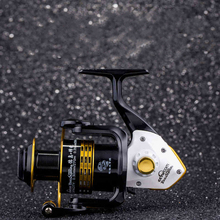 Tokushima FK 1000-7000 series Spinning Fishing Reel Gear ratio 5.1:1/ 4.9:1/ 5.5:1 Ball bearings 7+1 Full Metal Fishing Tackle