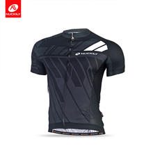 NUCKILY Summer Cycling jersey 2018 Men Short Sleeves Bike Clothing Polyester Bicycle Shirt   MA021 цена