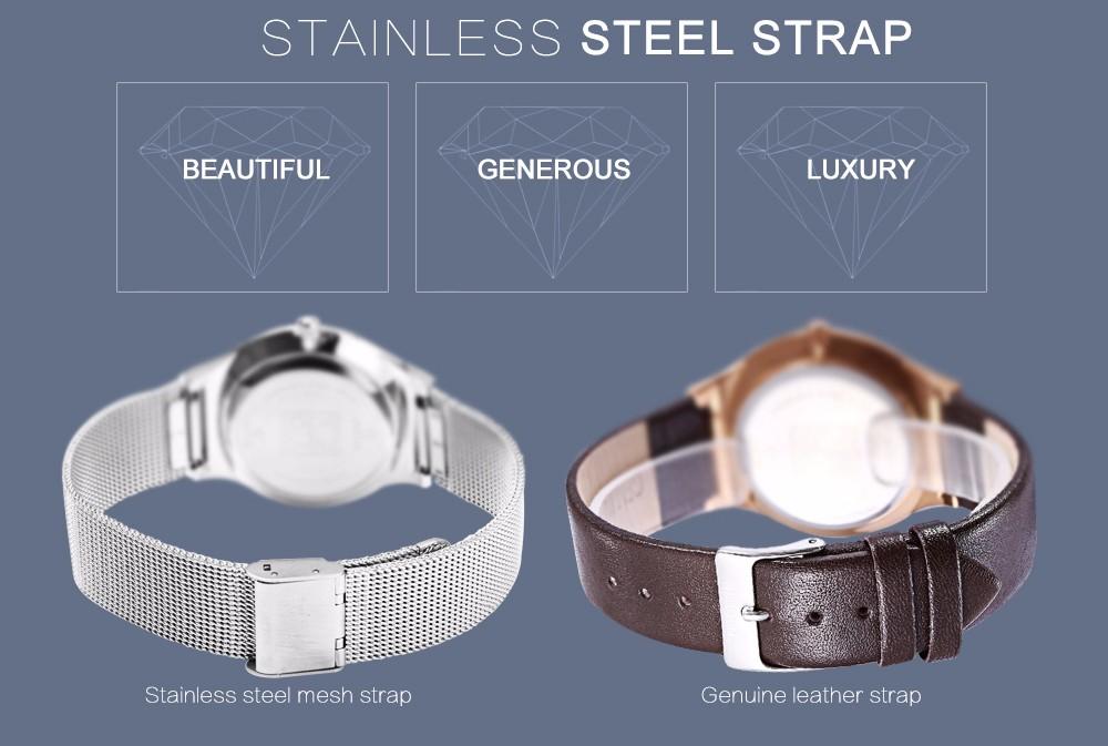 Julius Men Watch Stainless Steel Band Analog Display Quartz Wristwatch (5)