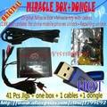 Venta caliente Original caja + Milagro Milagro clave con cables (1.88 actualización caliente) para teléfonos móviles de china Desbloquear + reparación de desbloqueo
