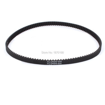 10 Pcs HTD 620-5m 10mm width 5 mm pitch 124 T synchronous Timing Belt for Stepper Motor mxl timing belt 302 320 362 403 456 510 518 608 640 764 810mxl 6mm 10mm belt width 2 032mm pitch rubber synchronous timing belt