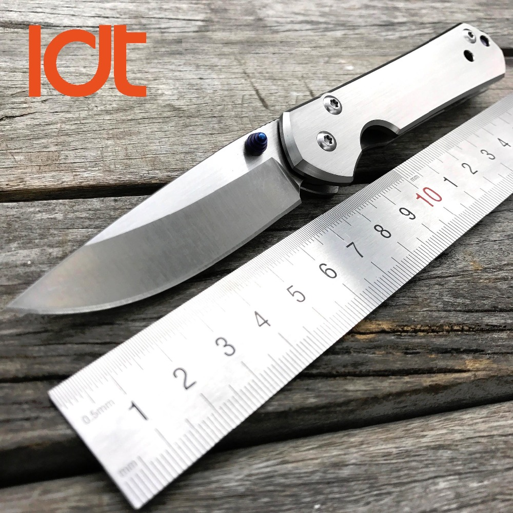 LDT Small Sebenza Titanium Handle Tactical Folding Knife D2 Blade Ball Bearing Hunting Pocket Knife Survival Knives EDC Tools ldt titanium handle bean butcher folding knives s35vn blade clever survival pocket knife ball bearing camping knife tools edc