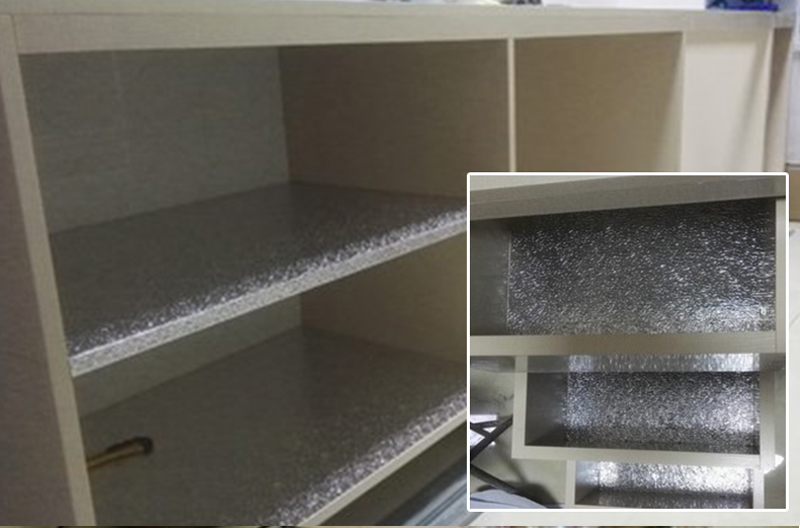 thick aluminum foil font cabinets stickers waterproof anti oil adhesive outdoor kitchen melbourne paint for