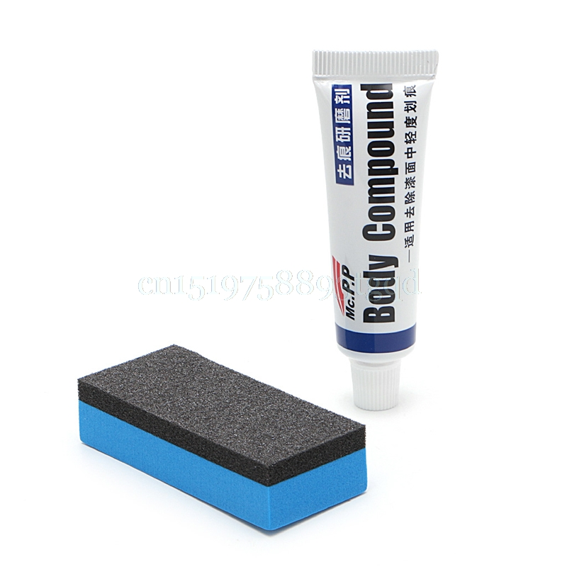 MC308 Car Body Scratch Paint Care Polishing Grinding Compound Car Paste Repair T518