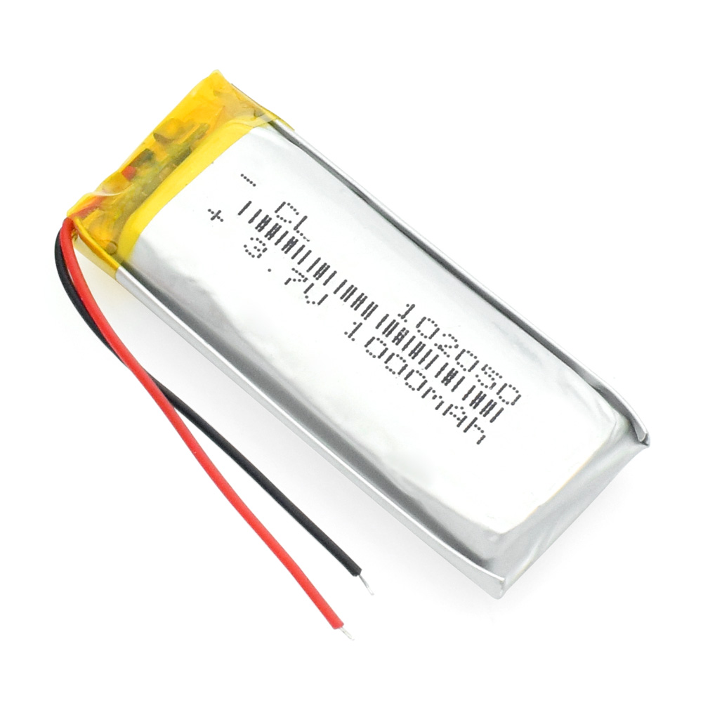 1000mah Lithium-ion Polymer Battery 3.7 V 102050 For MP3 MP4 MP5 GPS KTV Household Battery Amplifier Audio Computer Microphone