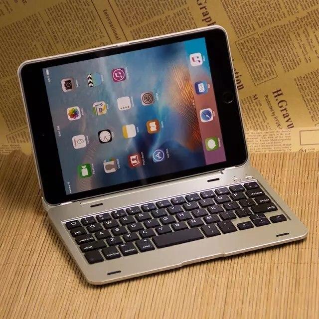 Новый тонкий беспроводной Чехол для iPad mini 4 клавиатура Bluetooth чехол Полный корпус защитный чехол для iPad mini 4 Клавиатура Чехол