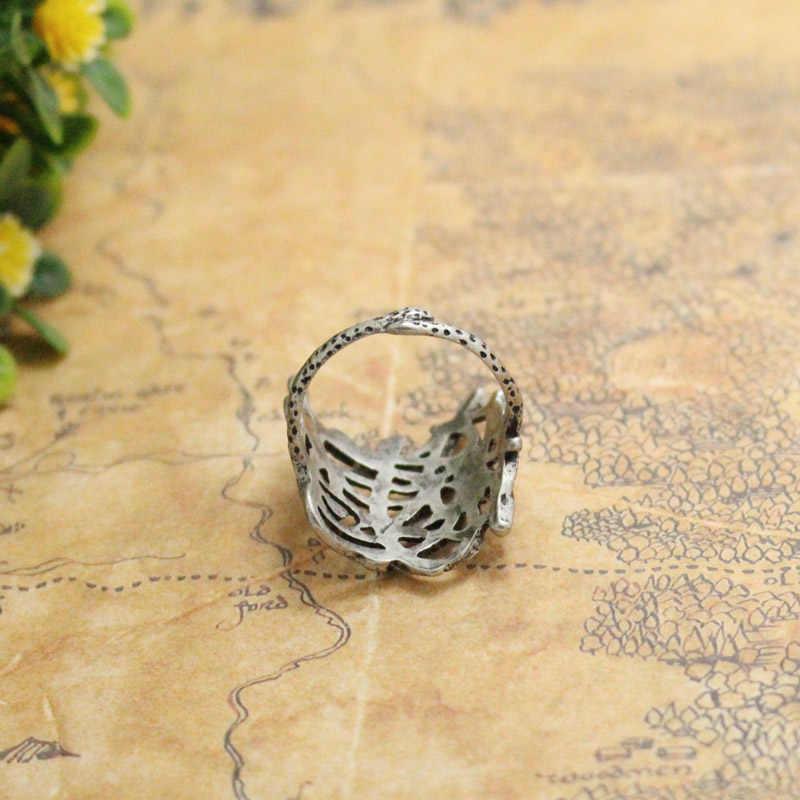 Hobbit Thranduil Cincin Mirkwood Elf Raja Sarang Cincin Legolas Ayah Tuhan Cincin Lotr Fashion Perhiasan Fan Hadiah
