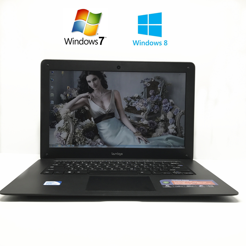 NEW 14 inch win7/win8.1 Laptop computer PC In-tel Celeron JI900,2.0GHZ Quad Core 8GB RAM,1TB HDD Slim Ultrabook,free shipping