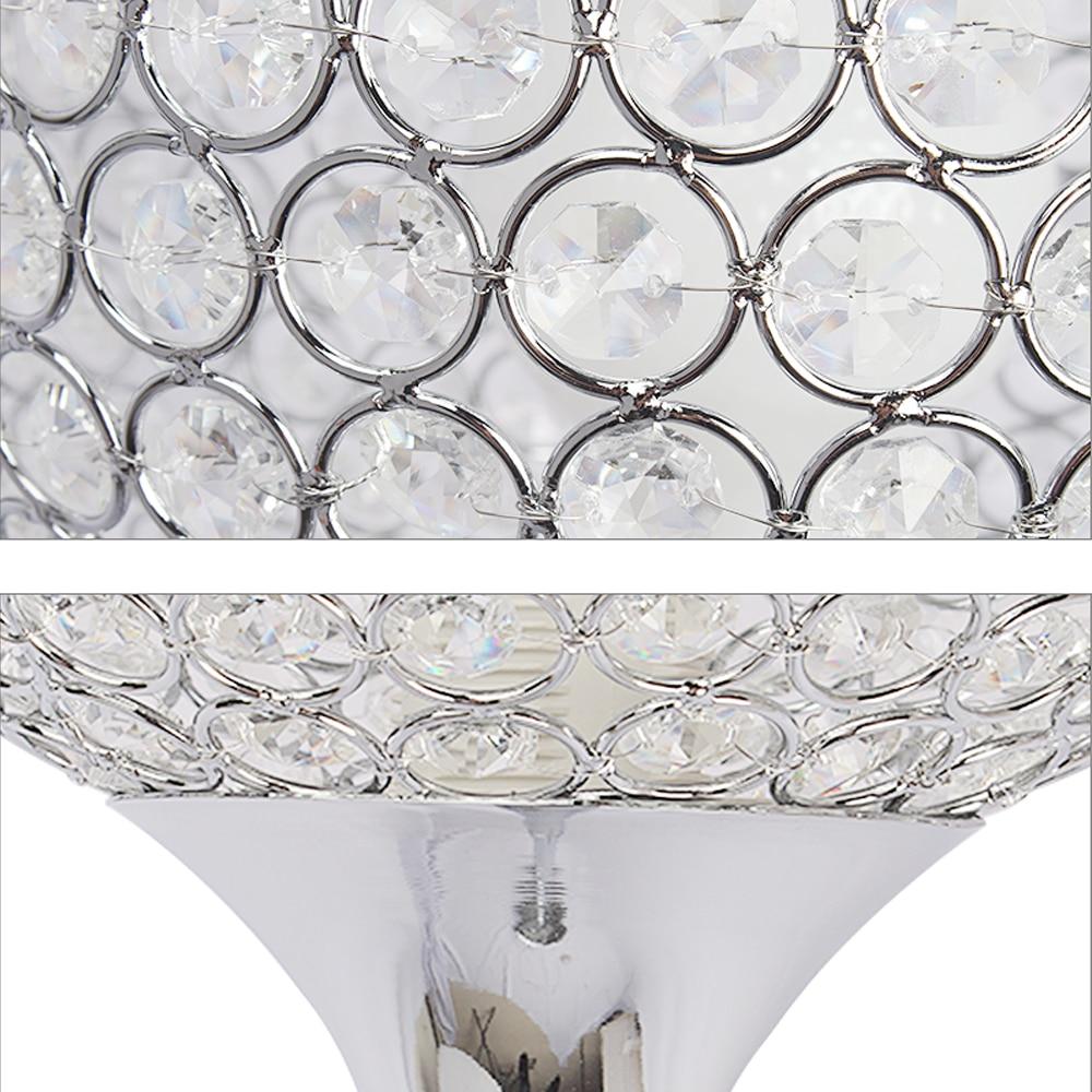 Image 4 - Floor Lamp crystal floor lamp Modern Floor Light LED E27 torso lighting 1.6m high Living room bedroom study decoration light-in Floor Lamps from Lights & Lighting