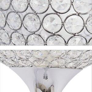 Image 4 - Floor Lamp crystal floor lamp Modern Floor Light LED E27 torso lighting 1.6m high Living room bedroom study decoration light