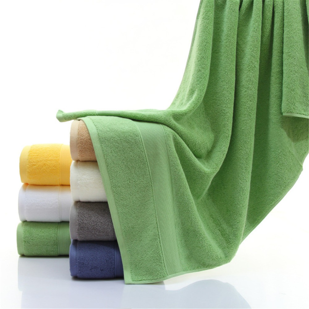 Image 4 - Extra Absorbent Quick Dry Large Towel 100% Pure Egyptian Cotton 650gsm Bathroom Bath Towel Spa Gym Sauna Multipurpose Collection-in Bath Towels from Home & Garden
