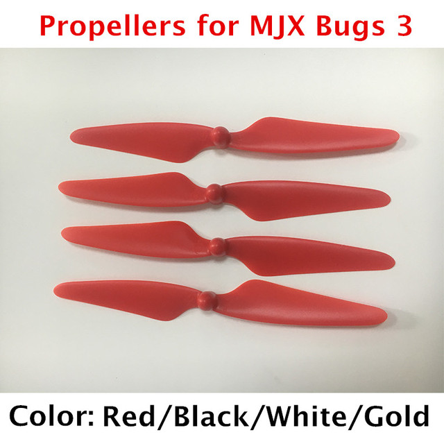 4Pcs Propellers Blades for MJX Bugs 3 B3 RC Quadcopter Brushless Drone...