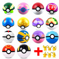 6Pcs/Set  Pikachu Pokeball Trainer Pokeball With Random  Action Figures  Ball Kids Toys Super Master Ball