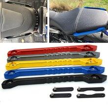Motorcycle Seat Belt Rear Passenger Hand Handle Grab Bar handrail rail Bracket Kit For Yamaha MT09 FZ09 2014 2015 2016