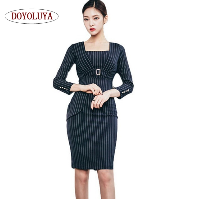 DOYOLUYA  2017 Nueva Corea de Las Mujeres Conjuntos de Bandas Top Trajes y  Vestidos e44f75a8f900
