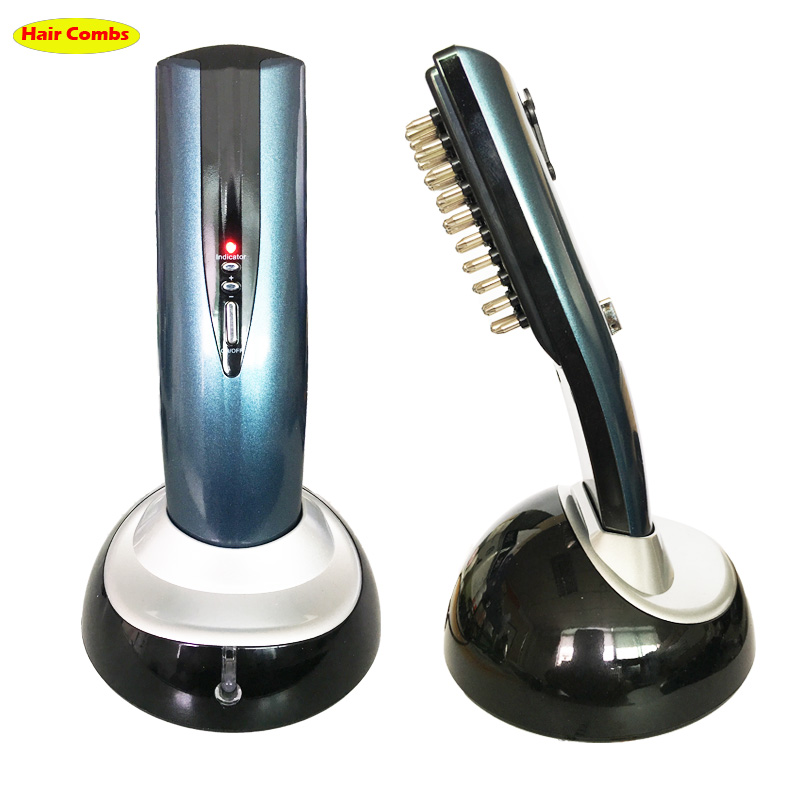 Head massager massage brush Comb Restoration Kit Hair growth Care Treatment Laser Grow Hair massage comb with packing 110V 220V laser head owx8060 owy8075 onp8170