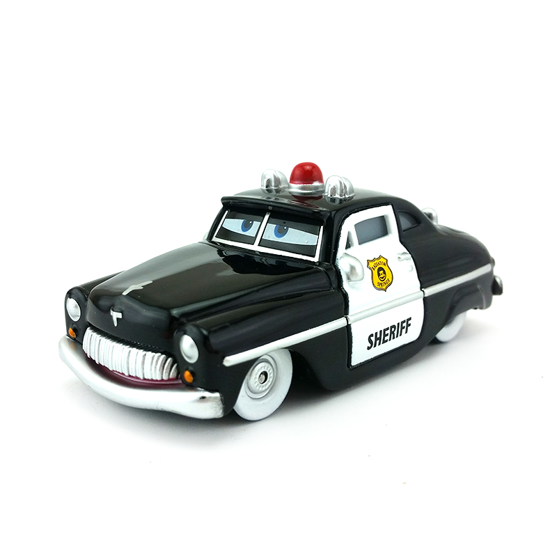 Disney cars Ligthing  McQueen Sheriff  Auto1:55