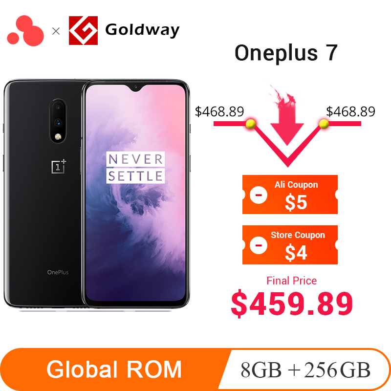 Global ROM Oneplus 7 8GB 256GB Smartphone Snapdragon 855 Octa Core 6.41″ AMOLED 48MP+16MP Dual Cameras NFC 3700mAh Mobile Phone-in Cellphones from Cellphones & Telecommunications on Aliexpress.com | Alibaba Group