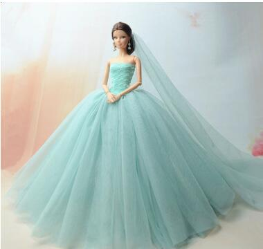 case for barbie dresses and gowns princess barbie wedding dress set fashionista accessories barbie clothes tnfaffa evening dress