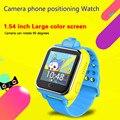 Q730 3 Г Smart Watch Дети Наручные Часы Для IOS Android С Камерой GSM GPRS WI-FI GPS Локатор Трекер Анти-Потерянный Smartwatch Гуаровая