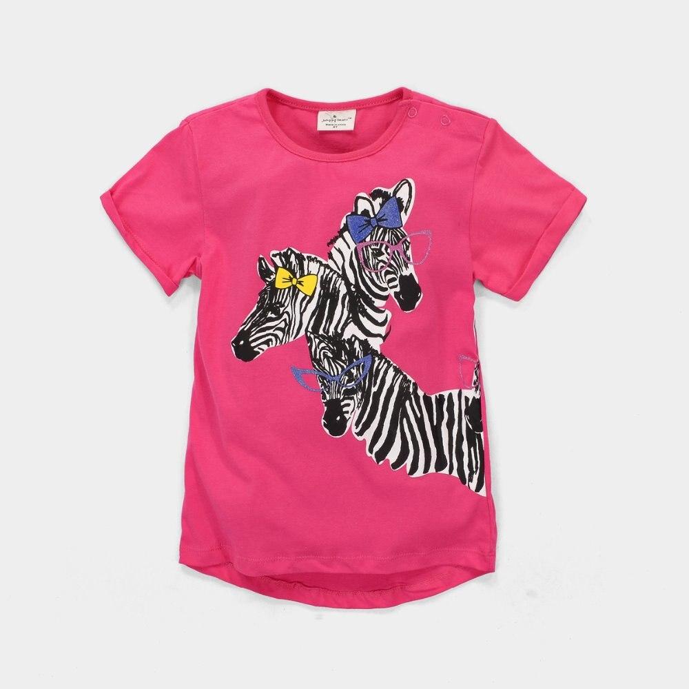 72pcs Girls T Shirts Kids Clothes Jumping Beans Fashion