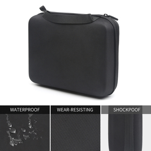 Image 3 - SHOOT Small Size EVA Portable Case for GoPro Hero 9 8 7 5 Black Xiao Yi 4K Dji Osmo Sjcam Eken Action Camera Collection Box Bag