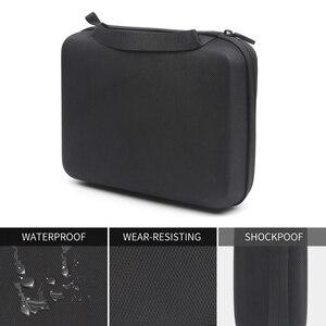 Image 3 - Shoot tamanho pequeno eva caso portátil para gopro hero 9 8 7 5 preto xiao yi 4k dji osmo sjcam eken ação câmera coleção caixa saco