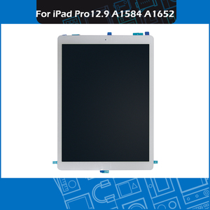"Image 4 - Pantalla Completa A1584 A1652, montaje de pantalla táctil en blanco y negro, para iPad Pro, pantalla de 12,9 ""con placa"