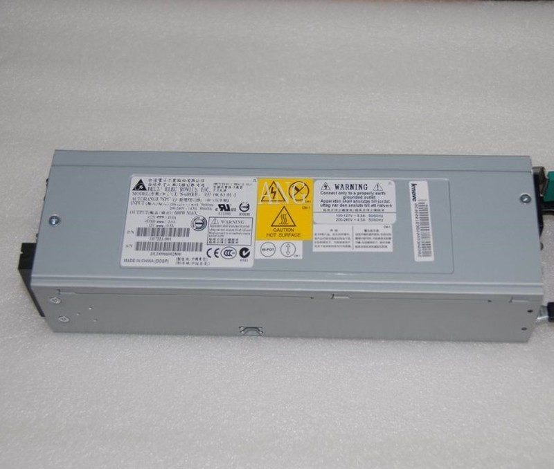 Free Shipping Server Power Supply For R520 G6X SR2520 DPS-600RB A 600W Fully Tested